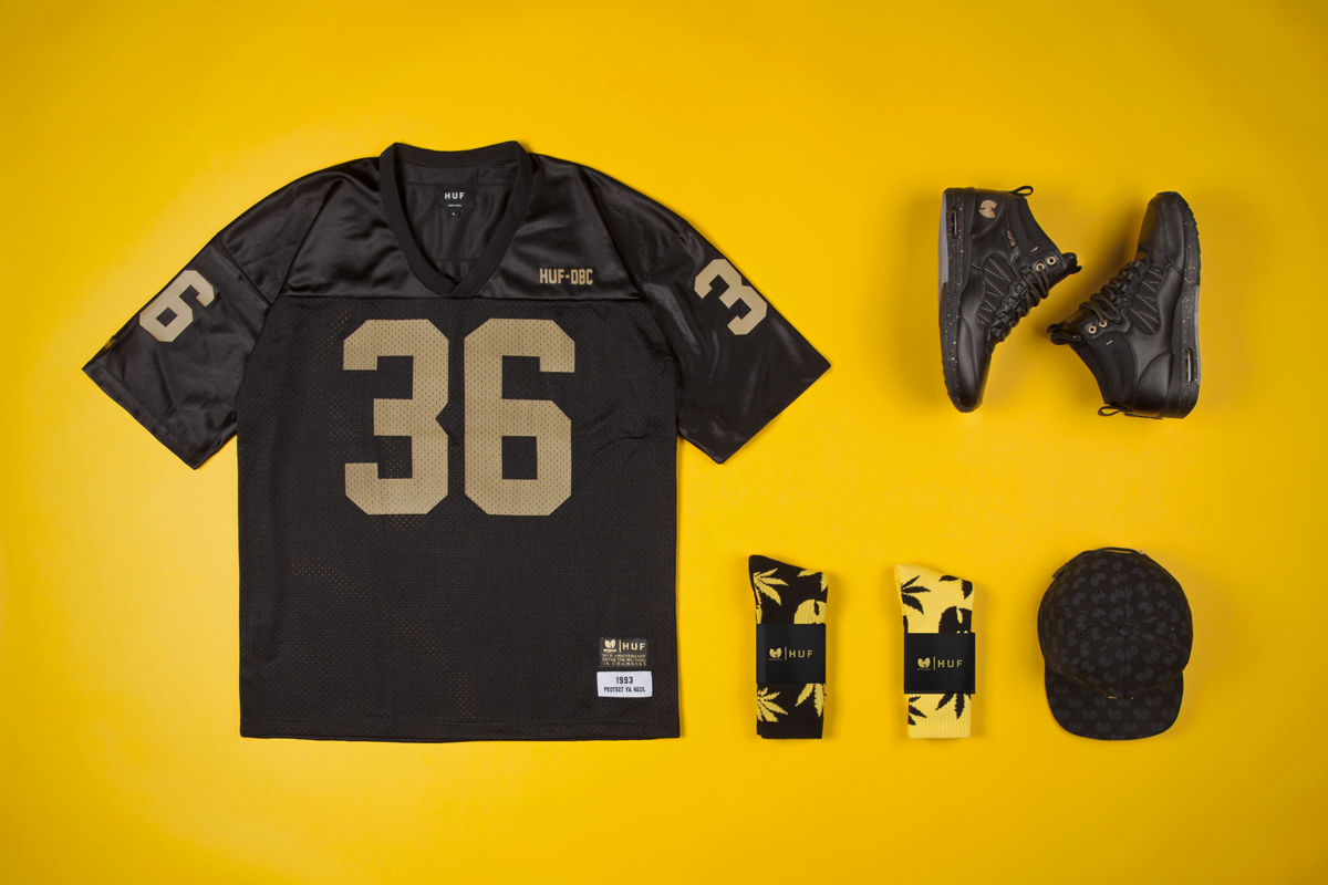 Image of Wu-Tang Clan x HUF 2014 Spring/Summer Collection