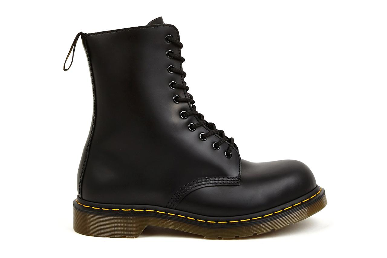 Image of Yohji Yamamoto x Dr. Martens 2014 Spring/Summer 10-Eye Leather Boots