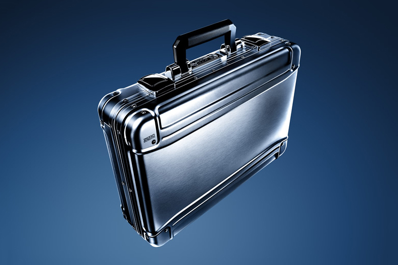 Image of Zero Halliburton Geo Aluminum Attache