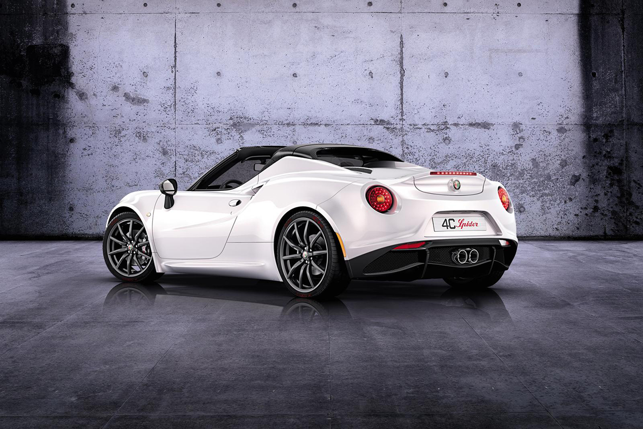 2015 alfa romeo 4c spider hypebeast. Black Bedroom Furniture Sets. Home Design Ideas