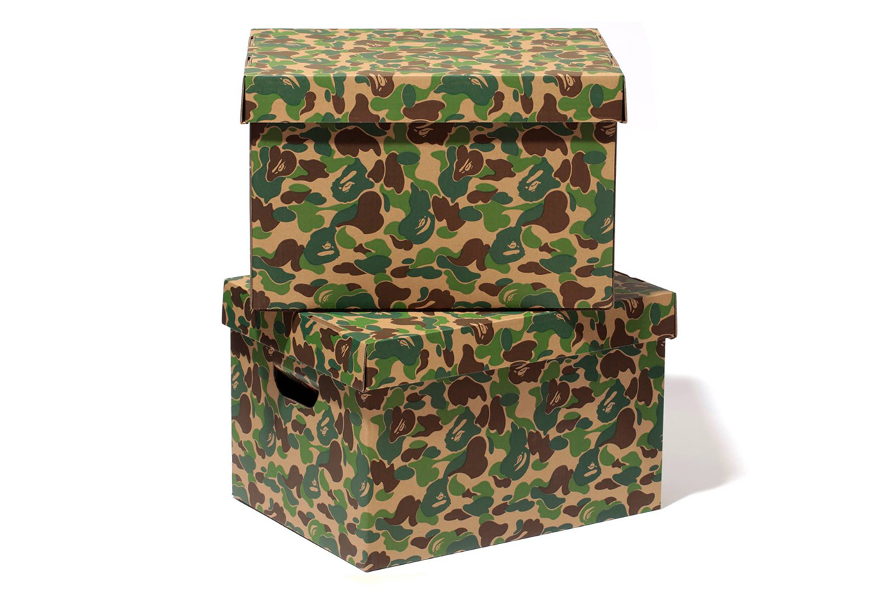 Image of A Bathing Ape ABC STORAGE BOX