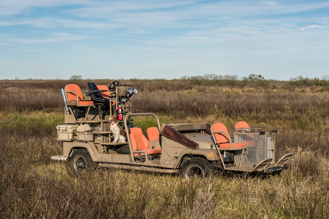 "Image of A. Lokey Explores Unique Hunting Rides in ""Texas Quail Rigs"""