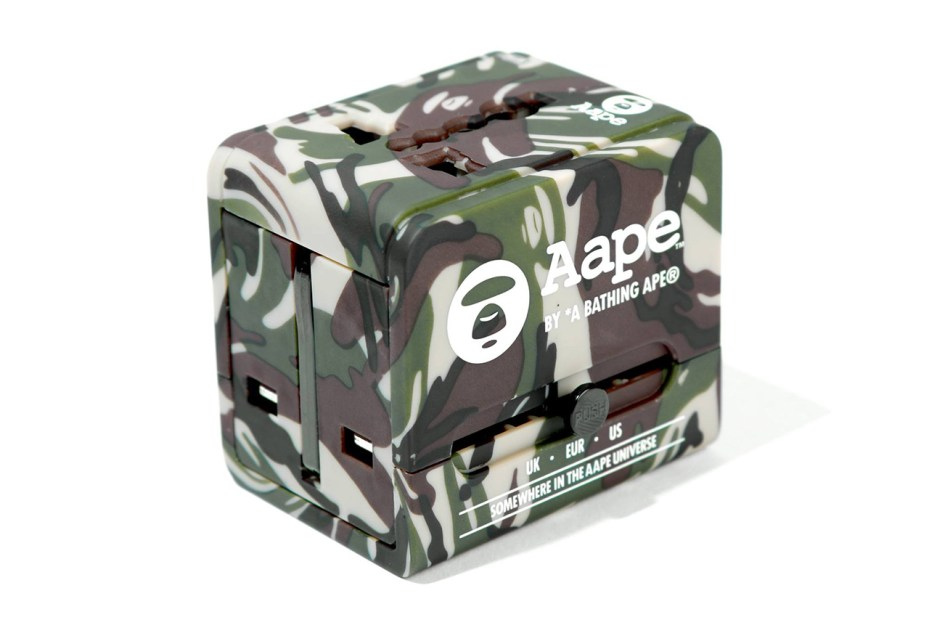 Image of AAPE by A Bathing Ape Travel Adapter