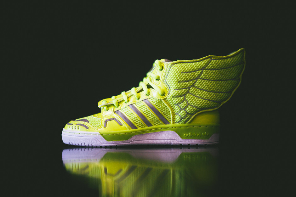 Image of adidas Originals by Jeremy Scott Mesh Wings 2.0 Electric