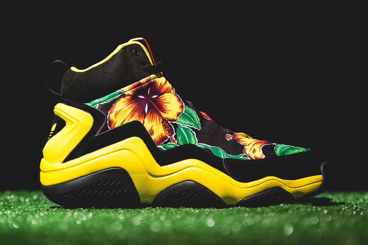 "Image of adidas Originals by Jeremy Scott FYW Prime Skin ""Floral"""