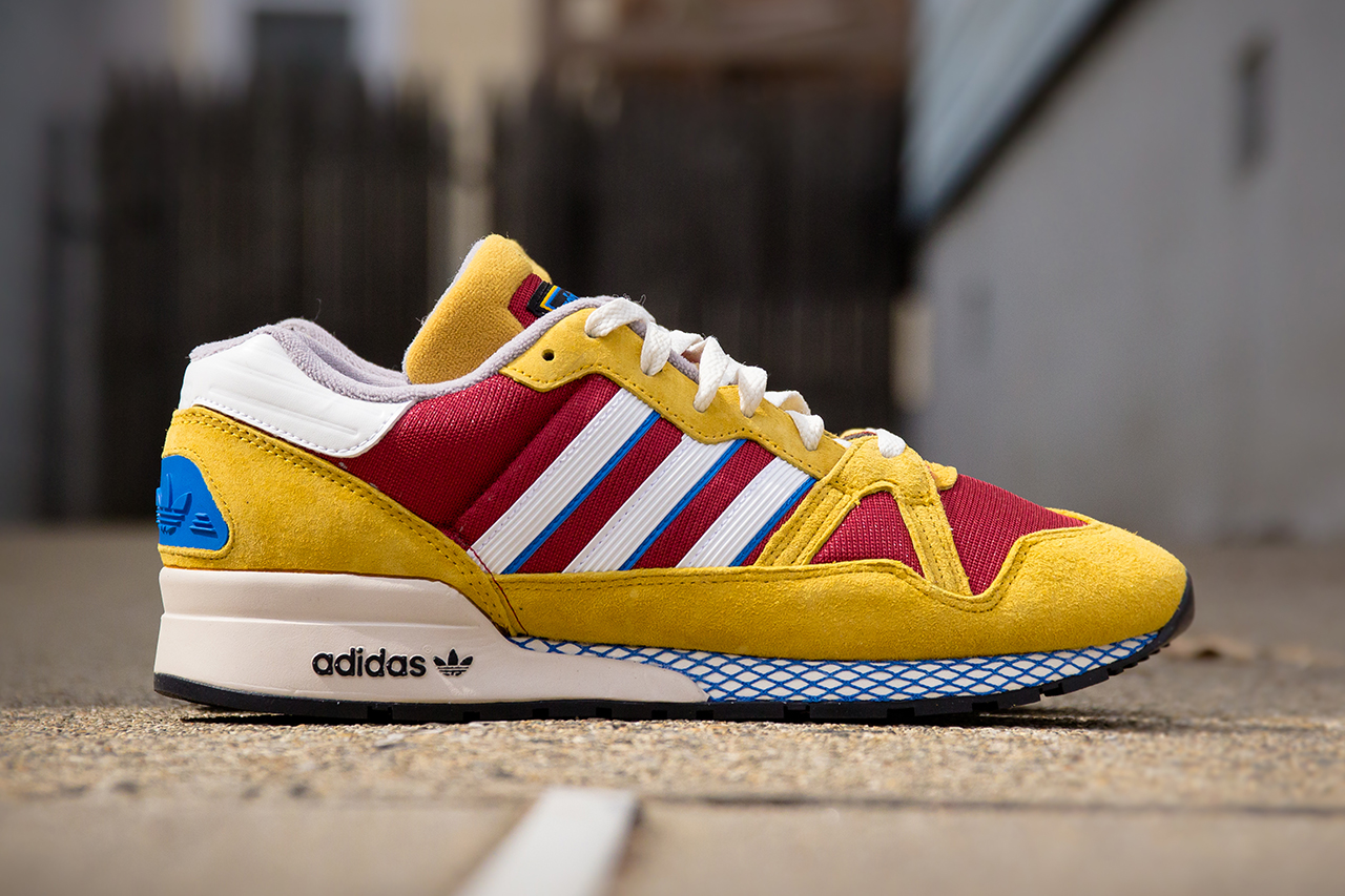 Image of adidas Originals ZX 710 Mustard/Burgundy