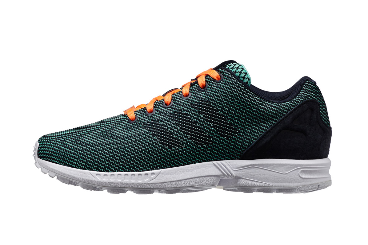 "Image of adidas Originals ZX FLUX 8K Weave ""Mint Green"""