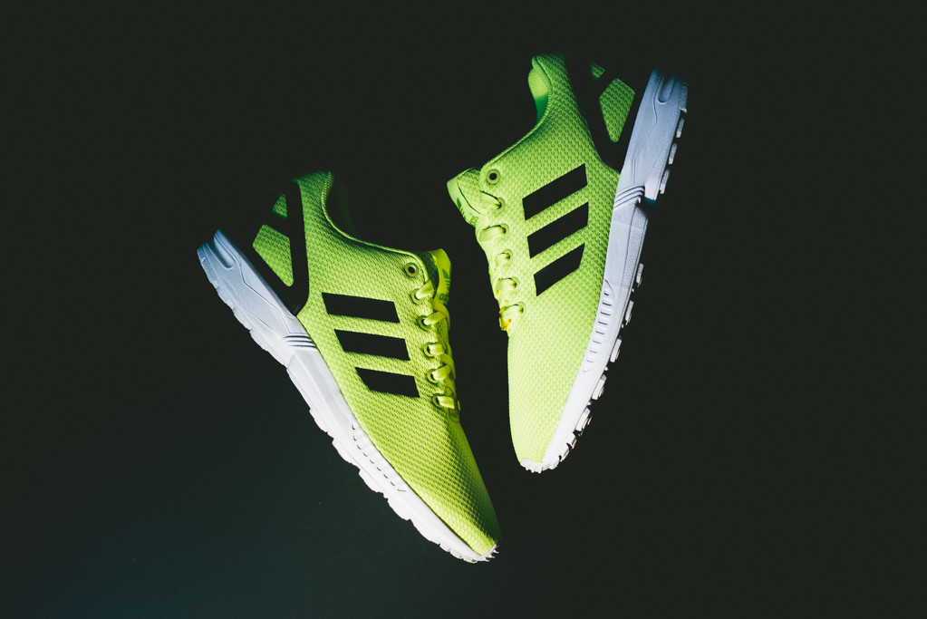"Image of adidas Originals ZX FLUX ""Electric Yellow"""