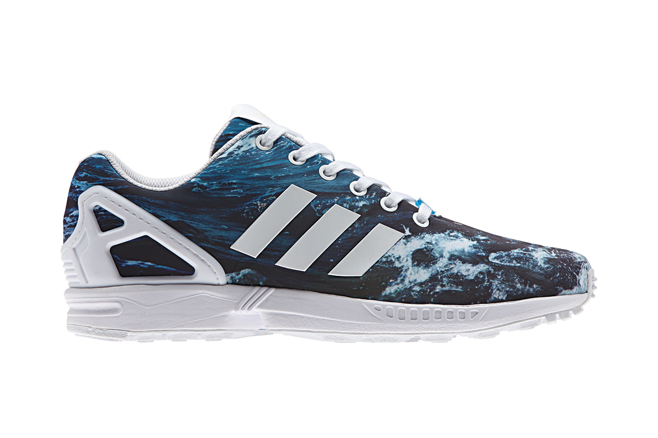 "Image of adidas Originals ZX FLUX ""Photoprint"" Pack"