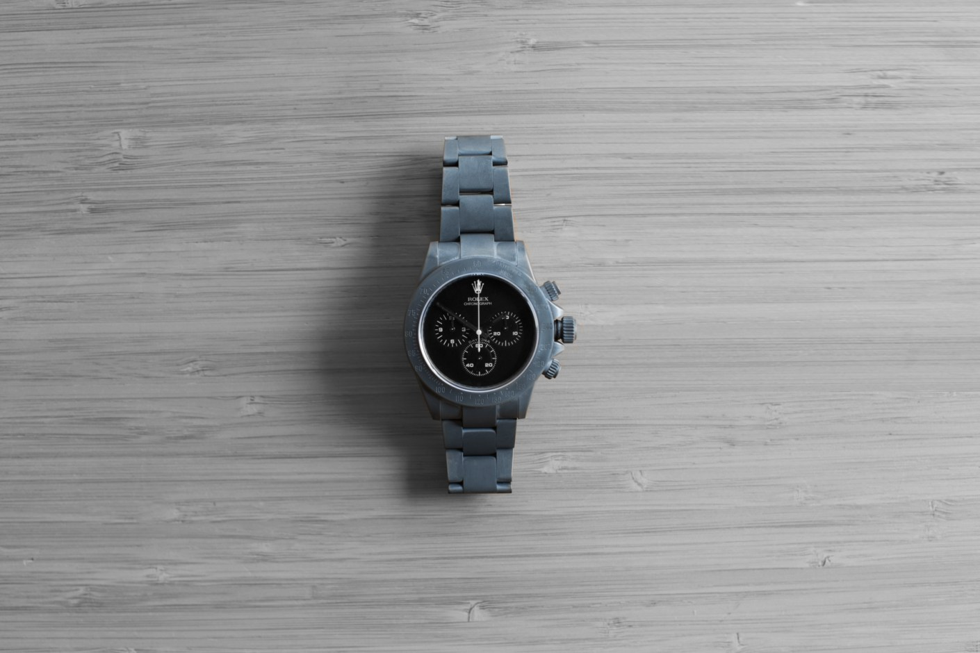 "Image of Bamford Watch Department Rolex ""Super Matte Grey"" Daytona"