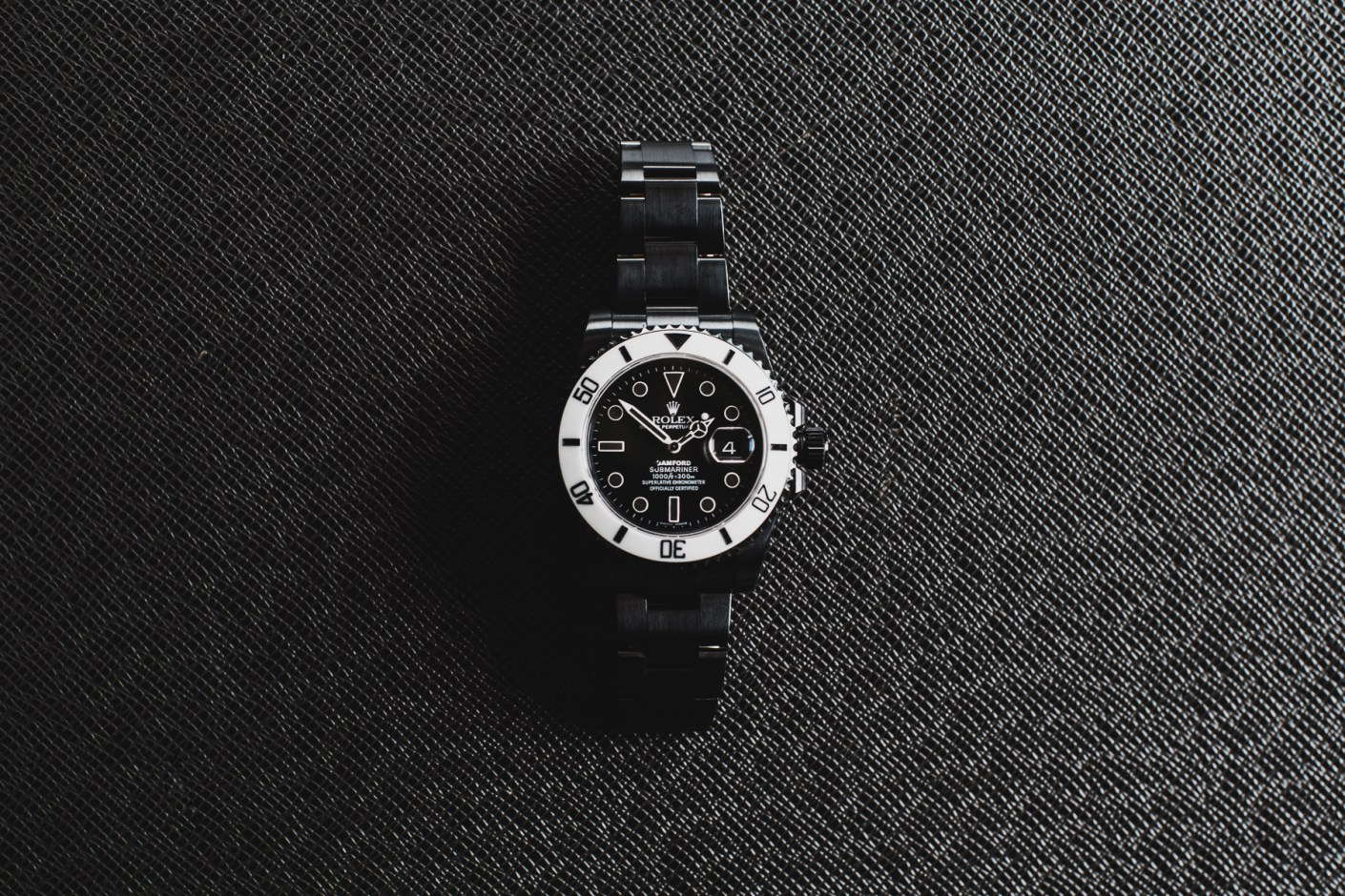 "Image of Bamford Watch Department Rolex ""Storm Trooper"" Submariner"
