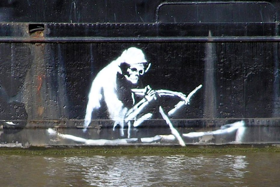 Image of [UPDATED] Banksy Teams Up with BNE for World Water Day