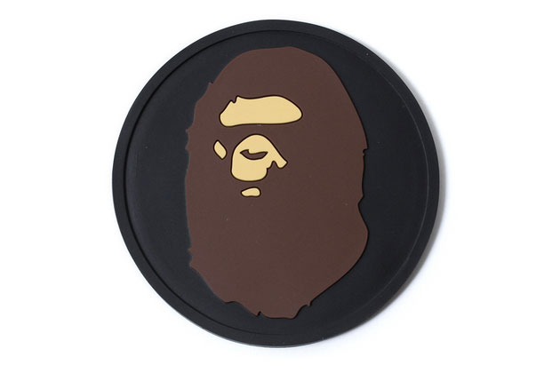 Image of A Bathing Ape REVERSIBLE RUBBER COASTER