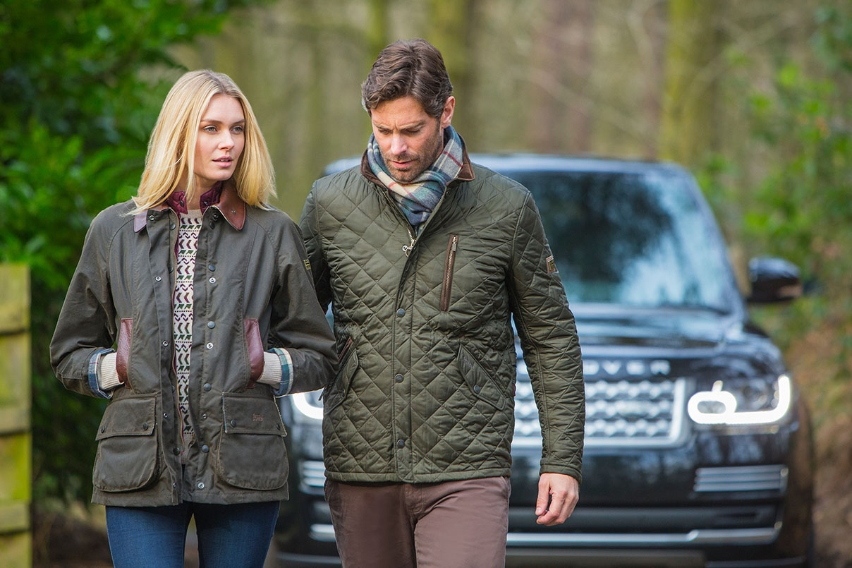 Image of Barbour for Land Rover 2014 Fall/Winter Collection Preview