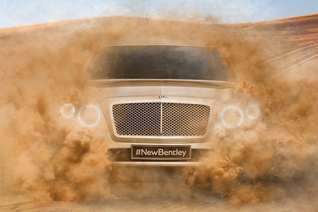 Image of Bentley SUV Preview