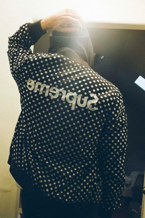 Image of COMME des GARCONS SHIRT x Supreme 2014 Spring/Summer Lookbook