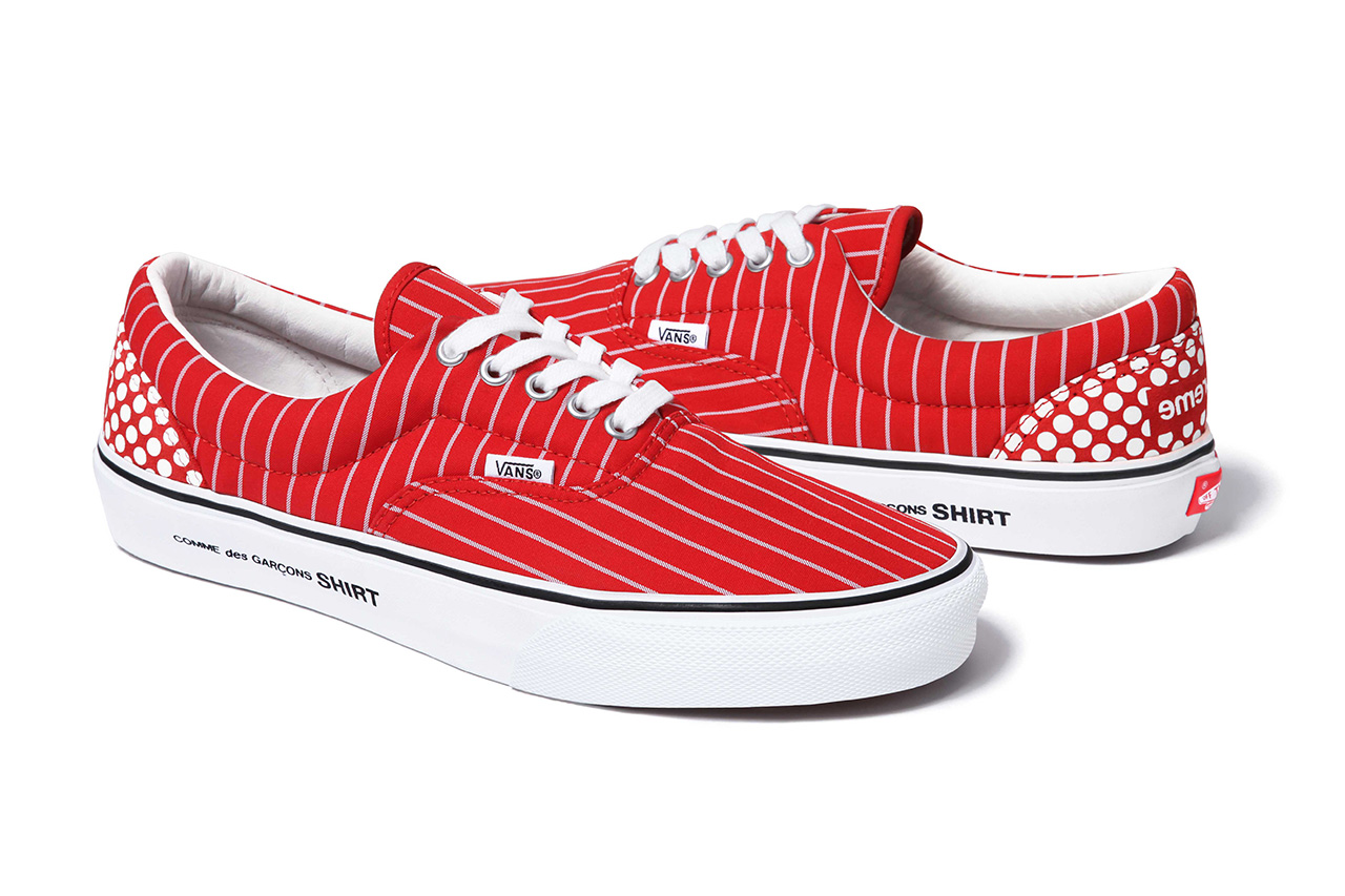 Image of COMME des GARCONS SHIRT x Supreme x Vans 2014 Spring/Summer Collection