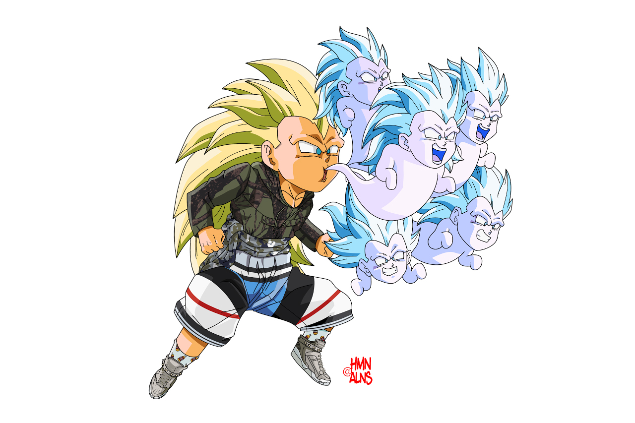 "Image of  Dragon Ball Z x HMN ALNS ""Fusion"""
