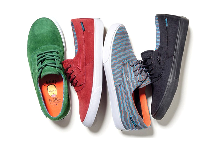 Image of  Earl Sweatshirt x Lakai 2014 Footwear Collection