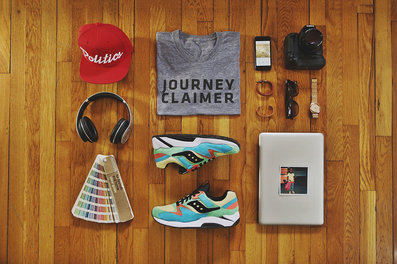 Image of Essentials: Brandon Williams aka Run Bimma of Saucony Originals