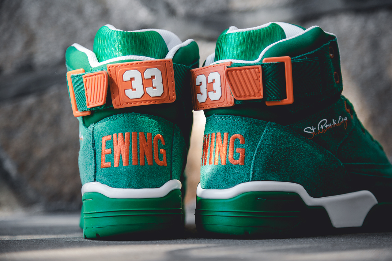"Image of Ewing Athletics 33 Hi ""St. Patrick's Day"""