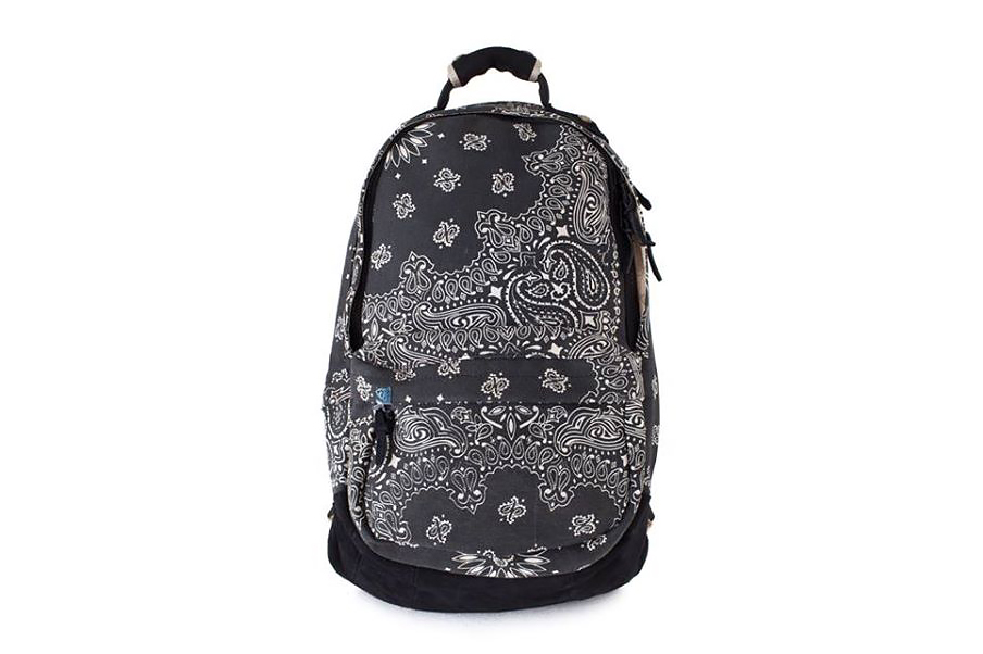 Image of F.I.L. Indigo Camping Trailer 2014 Spring/Summer BANDANA 22L Backpack