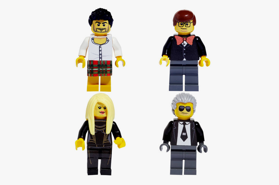 Image of Famous Fashion Figures Reimagined as LEGOs