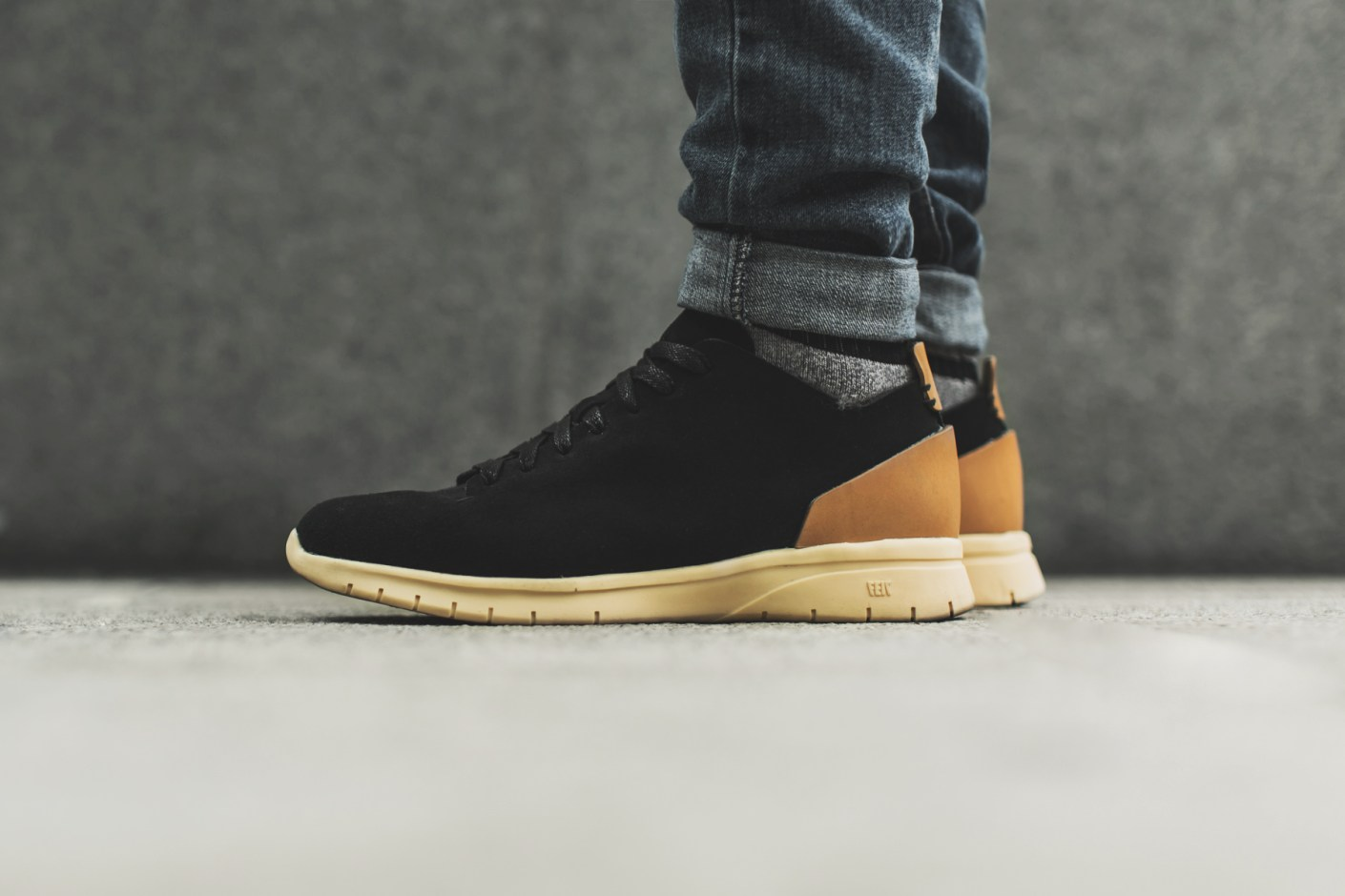 Image of A Closer Look at the FEIT Bio Trainer Black Suede