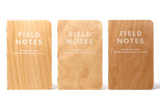 "Image of Field Notes ""Shelterwood"" Edition Made from Real Wood"