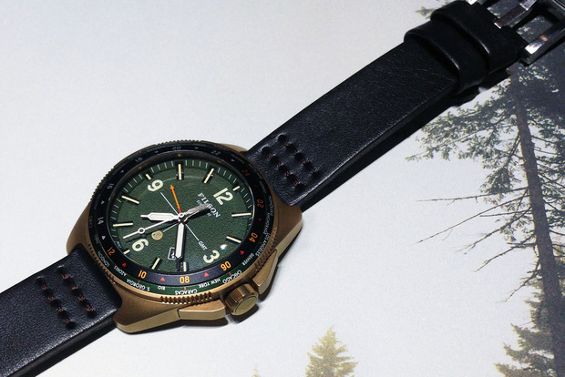Image of Filson Previews First-Ever Watch Collection by Shinola