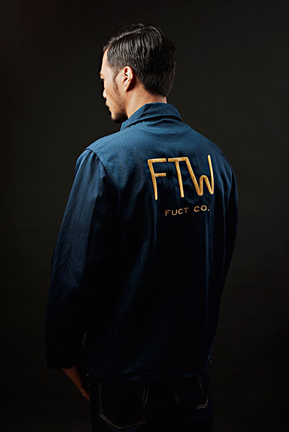 Image of FUCT SSDD 2014 Spring/Summer Editorial by UNiFORME