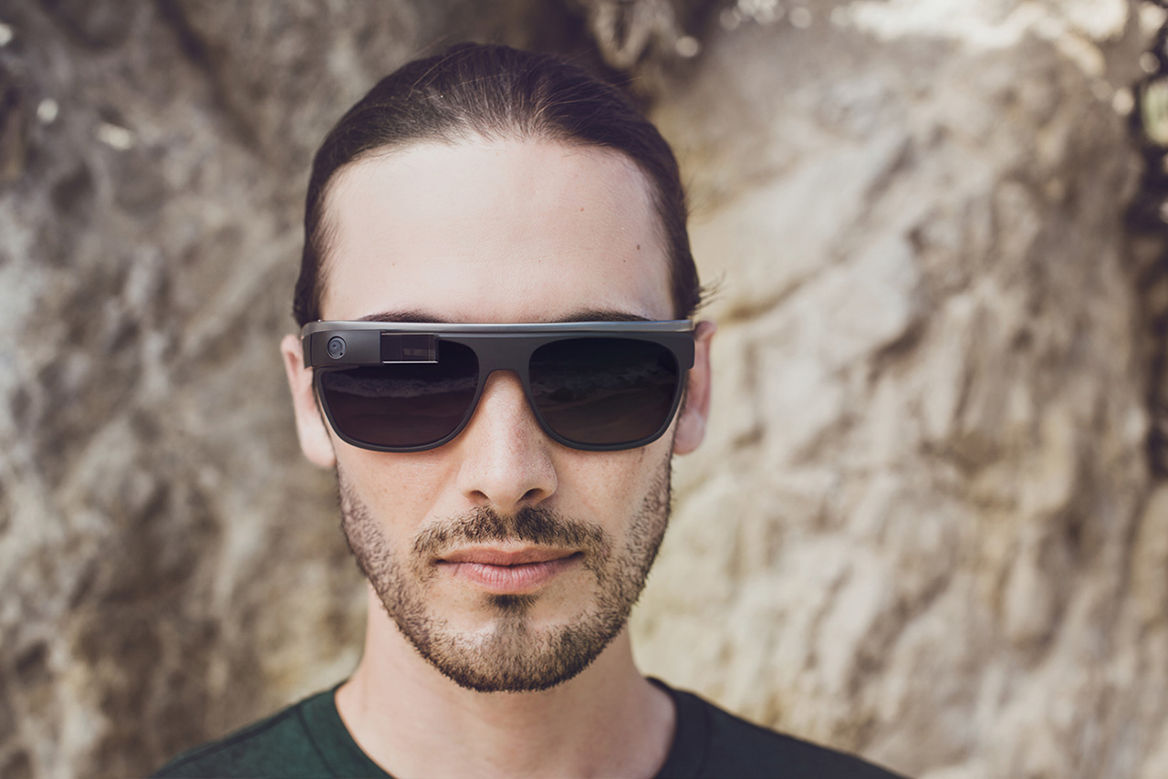 Image of Google Glass Partners with Luxottica