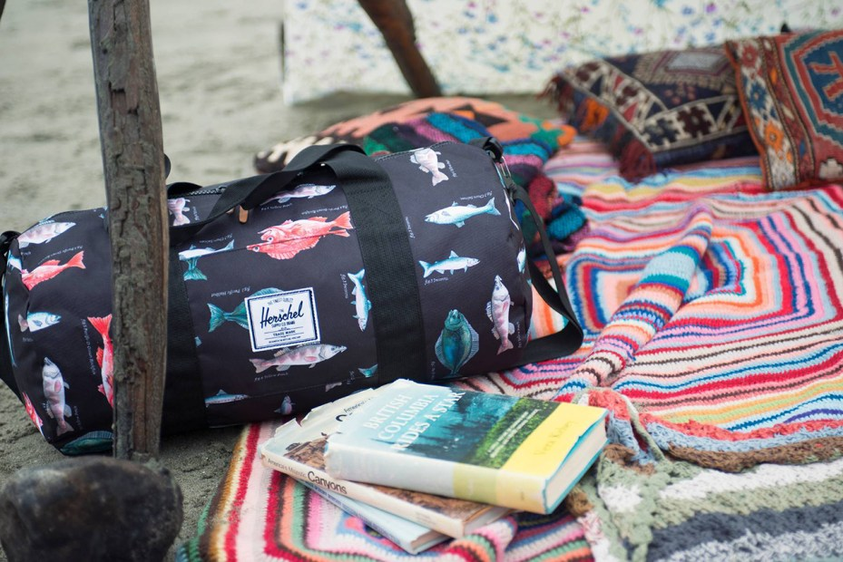 Image of Herschel Supply Co. 2014 Spring Pacific Print Collection