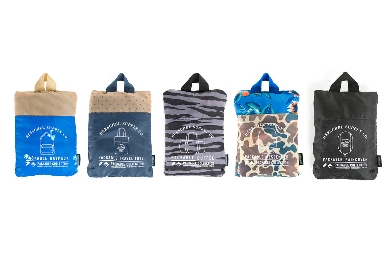 Image of Herschel Supply Co. 2014 Spring/Summer Packable Collection