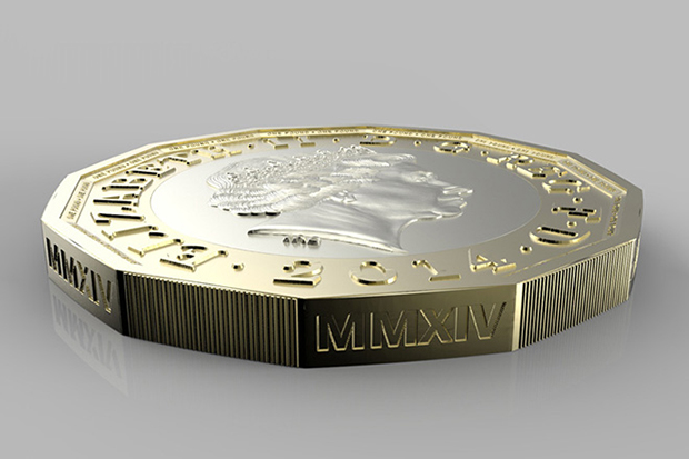 Image of HM Treasury Unveils New £1 GBP Coin