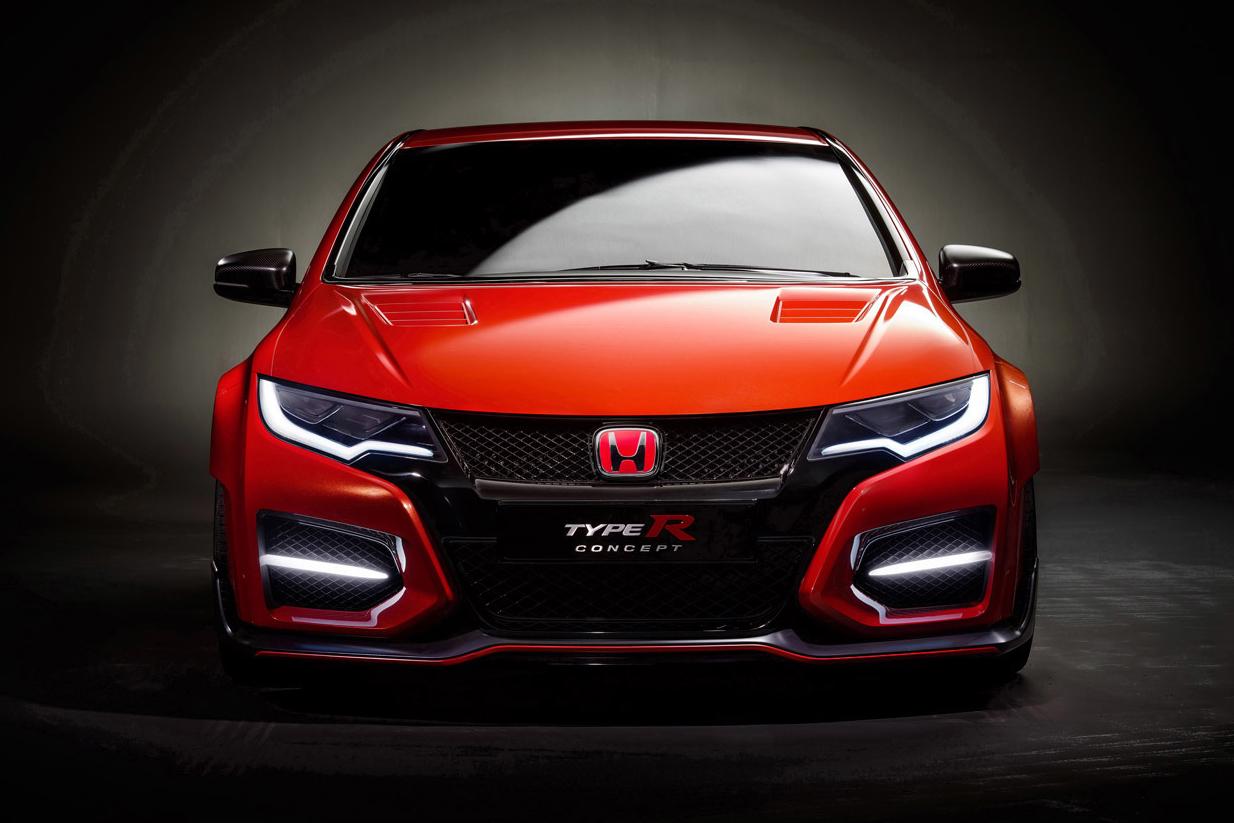 Image of Honda Unveils the Civic Type R Concept