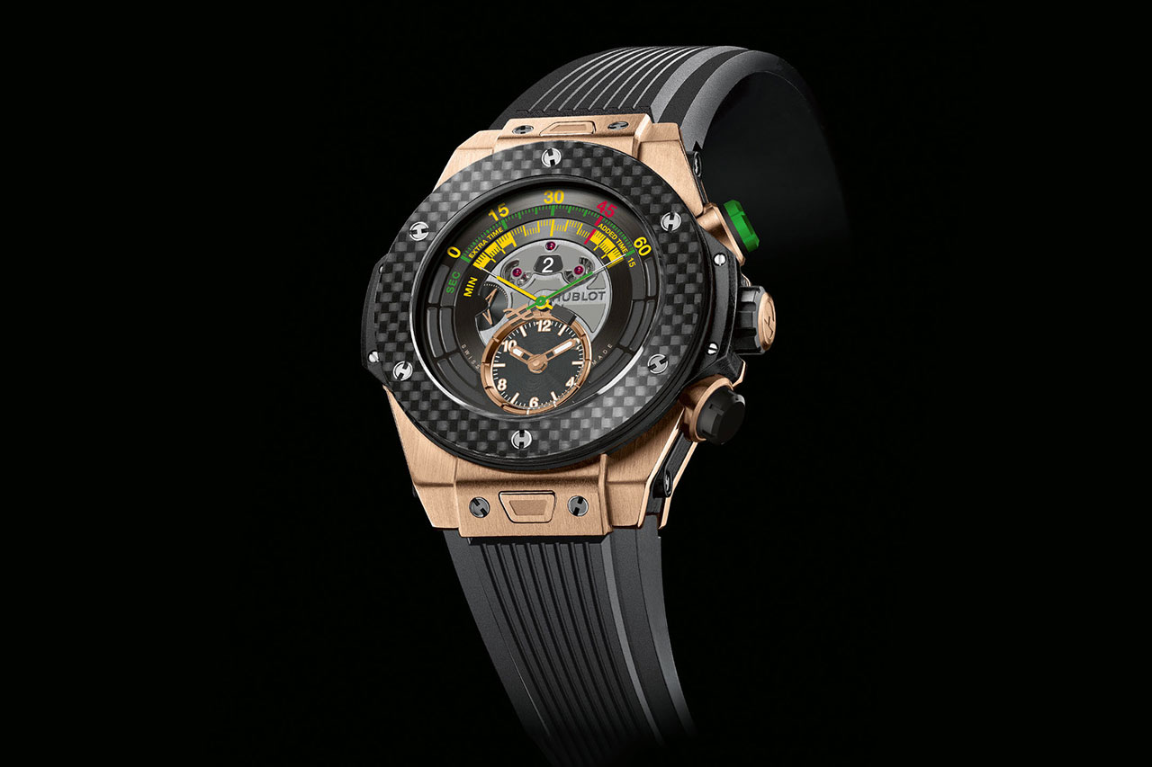 Image of Hublot Big Bang Unico Bi-Retrograde Chrono: The Official Watch of the 2014 World Cup