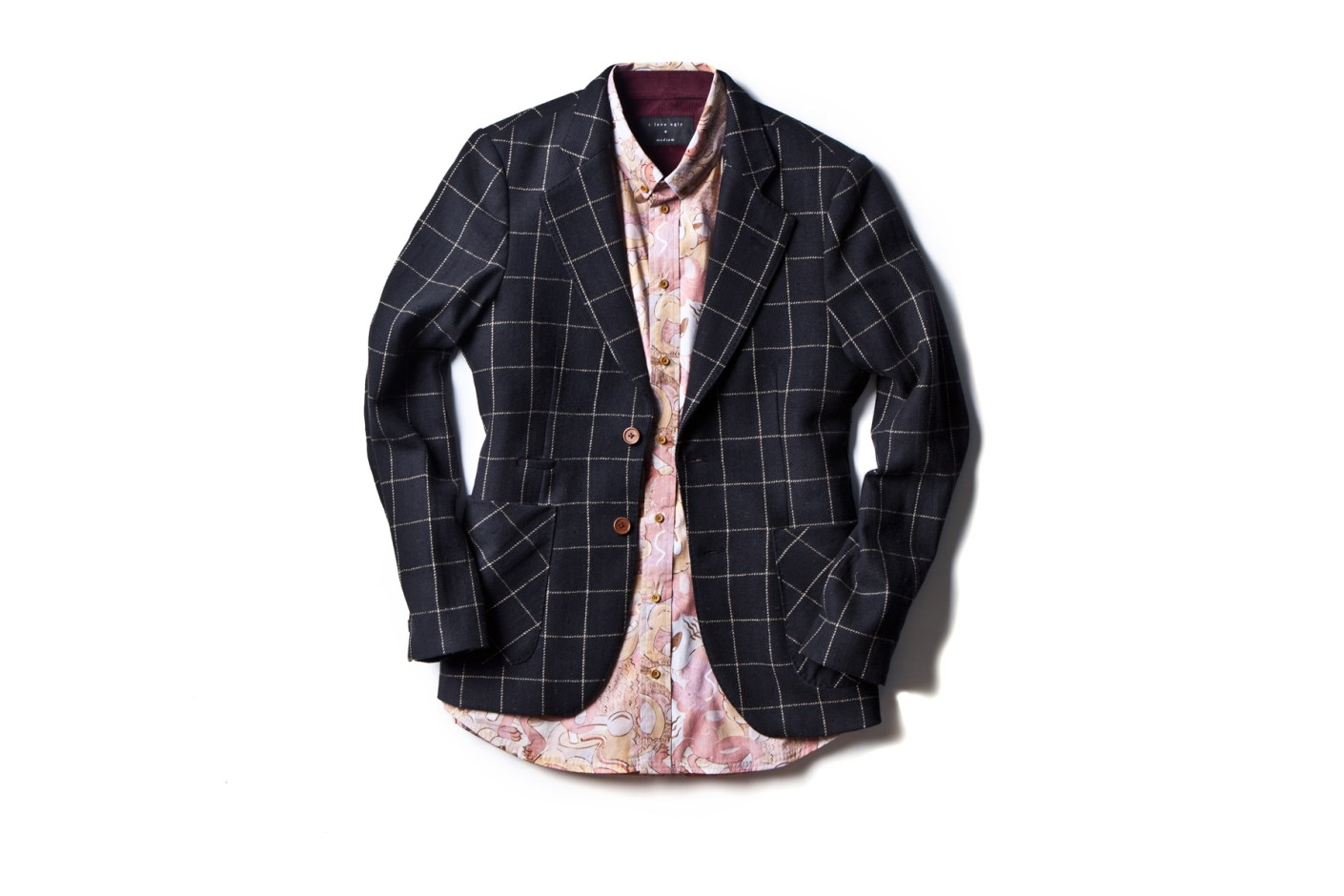Image of I Love Ugly 2014 Spring/Summer Check Blazer