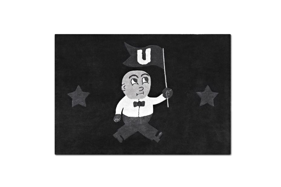 "Image of I Love Ugly ""U-Man"" Floormat"