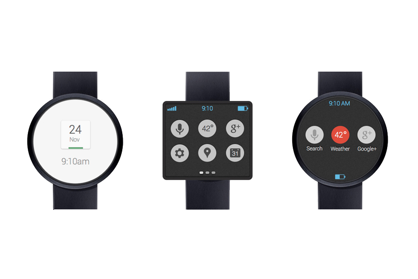 Image of Information on Google's Smartwatch by LG Leaks to Public
