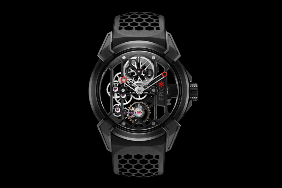 Image of Jacob & Co. x M. Benjamin Epic X Watch