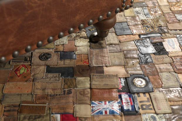 Image of Kings of Sweden Recycled Jean Labels Carpet