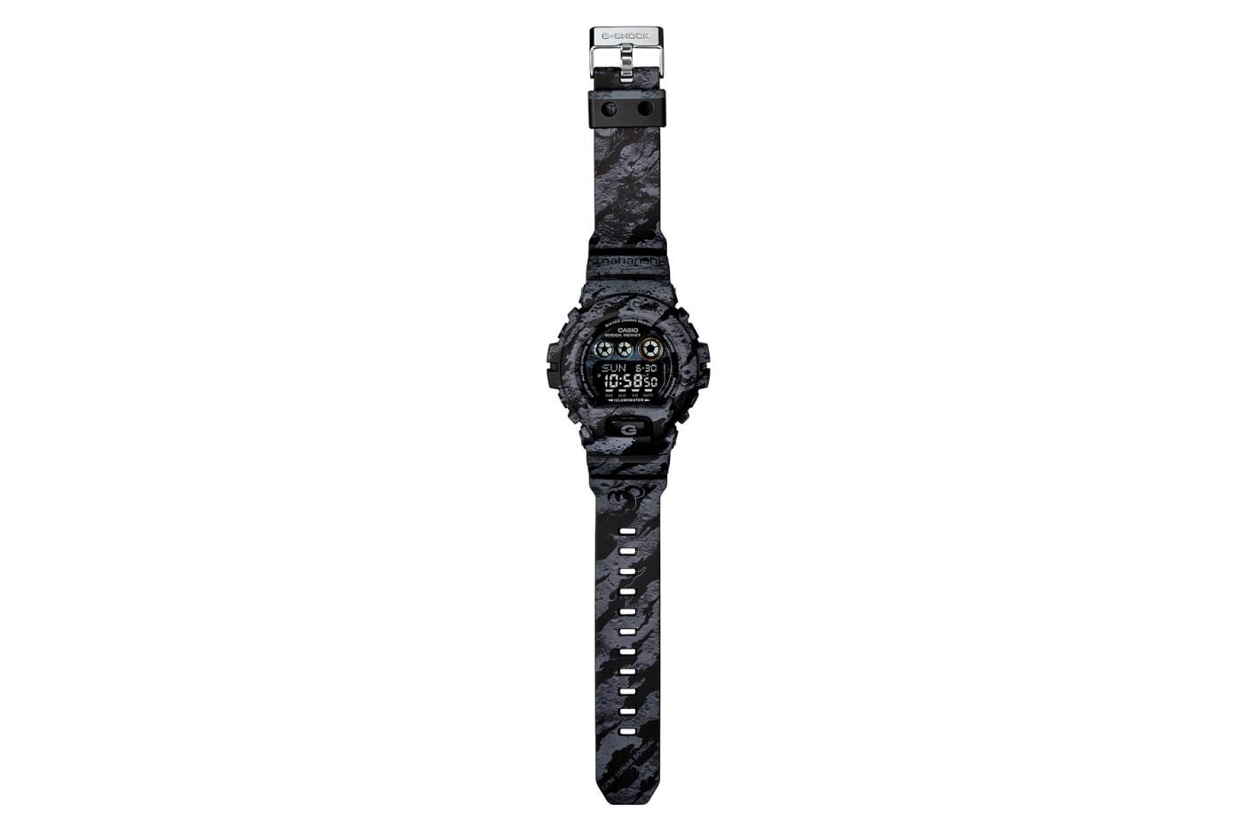 """Image of maharishi x Casio G-Shock GD-X6900M """"DPM: Lunar Bonsai"""""""