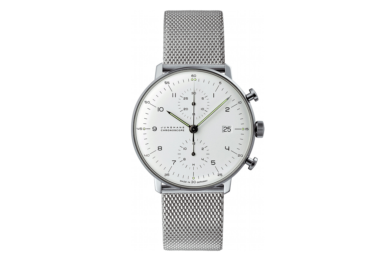 Image of Max Bill x Junghans Chronoscope Watch