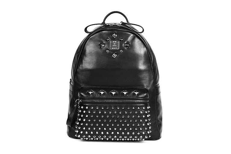 Image of MCM Medium Studded Stark Backpack