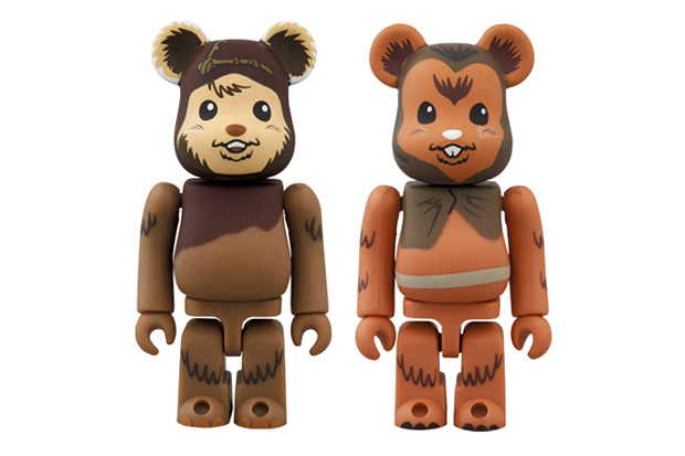 """Image of Star Wars x Medicom Toy 100% Bearbrick """"MAY THE FORCE BE WITH YOU"""" Pack"""