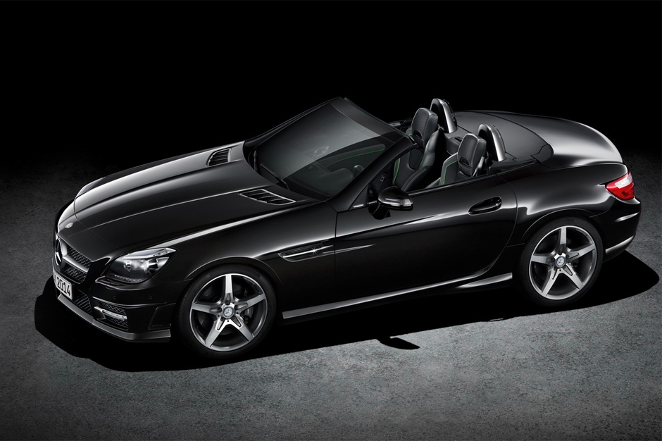 Image of Mercedes-Benz Unveils Two Special Editions of the SL and SLK