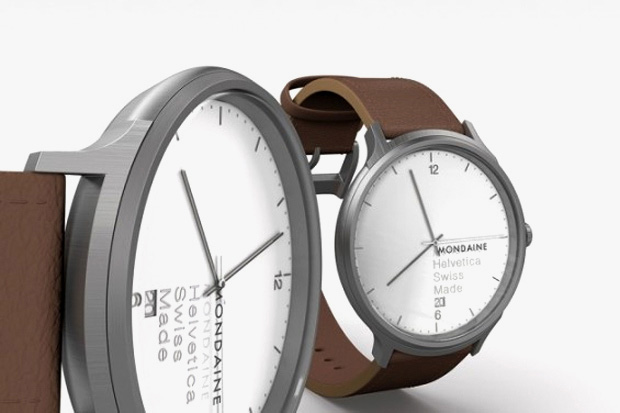 "Image of Mondaine Helvetica Watch Family ""NO. 1"""