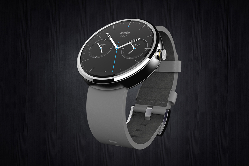 Image of Motorola Moto 360: The First Android Wear Smartwatch