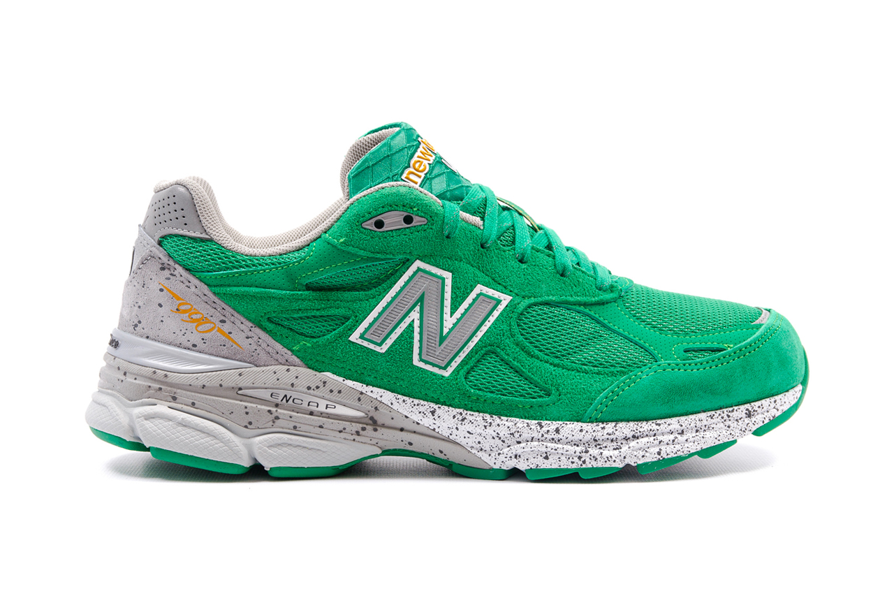 "Image of New Balance 990 ""St. Patrick's Day"""